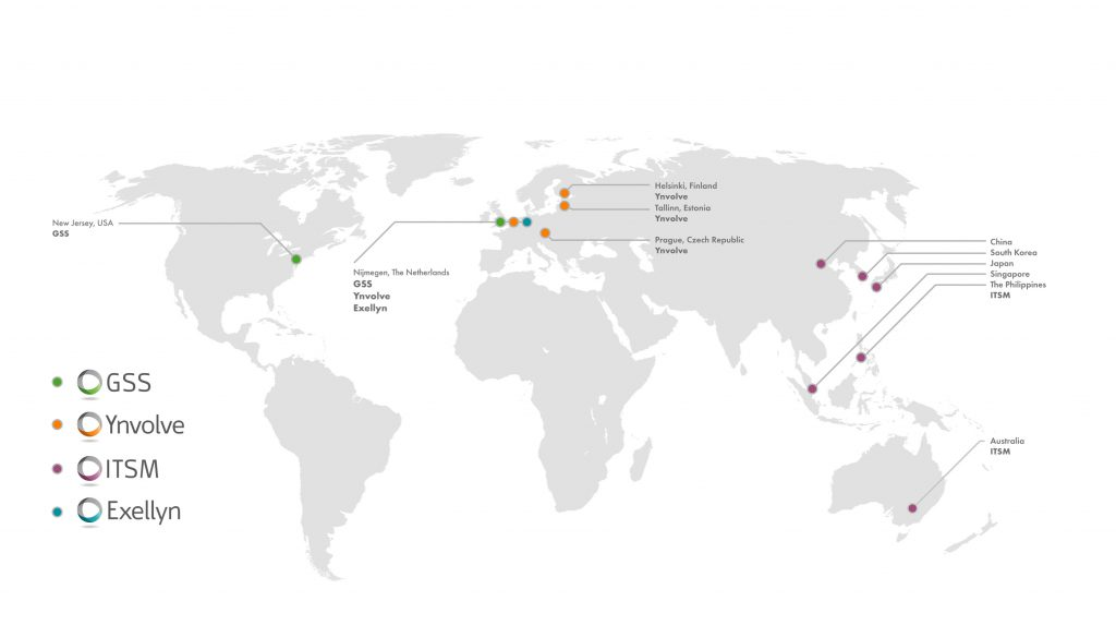 Infinite Group world map